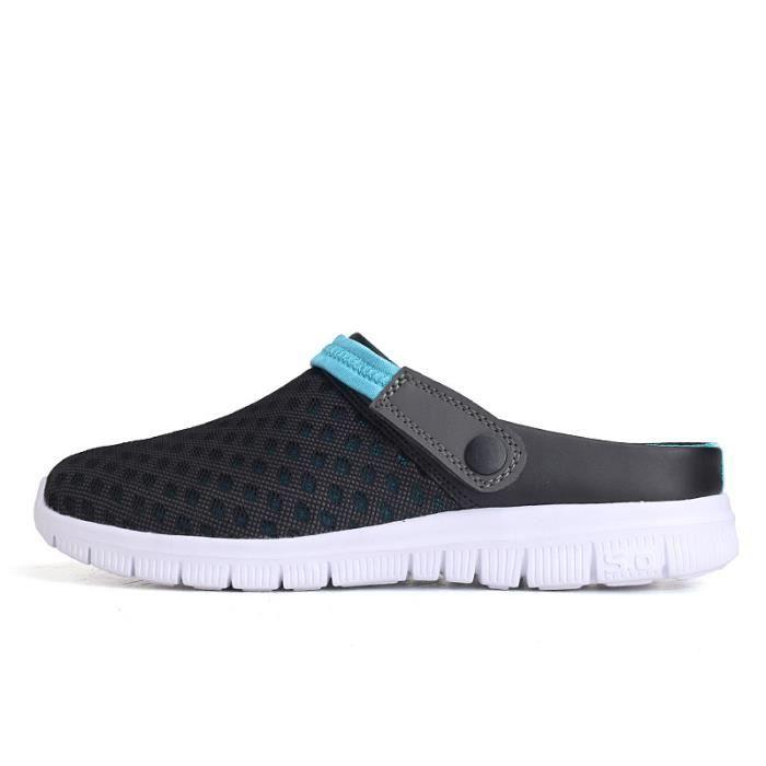 Beach Qe3465 Chaussures Respirant Femmes Flops Hommes Sandale D'été Maille Rembourré Flip wY4gqUv