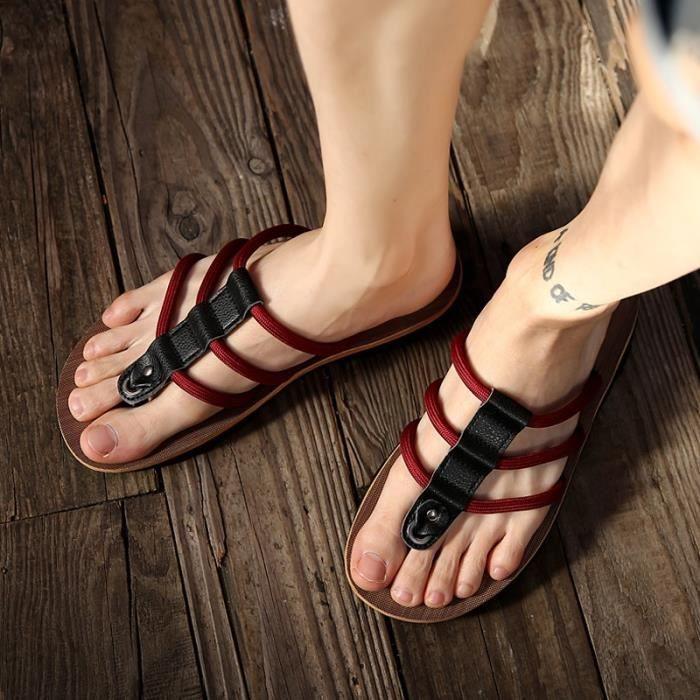 New Spring Voyage hommes flip flops sandales de plage