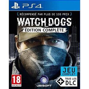 Watch Dogs Edition Compl?te Jeu PS4