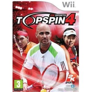 JEUX WII TOP SPIN 4 / Jeu console Wii