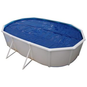 TORRENTE Bâche isotherme pour piscine 550x366cm - Bleue
