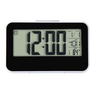 HORLOGE - PENDULE Mode créatif horloge intelligente LED alarme snooz