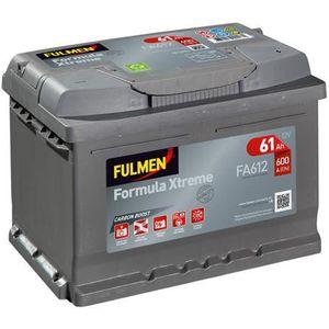 BATTERIE VÉHICULE FULMEN Batterie auto XTREME FA612 (+ droite) 12V 6