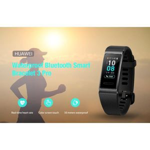 MONTRE CONNECTÉE HUAWEI Band 3 Pro-Montre intelligente Bracelet Con