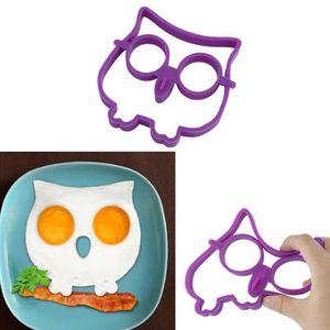 CUIT OEUF - POCHE OEUF omelette de moule violet hibou intéressant bébé en