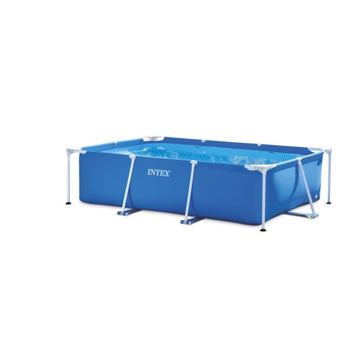 intex piscine rectangulaire tubulaire l260 x l160 x h065m
