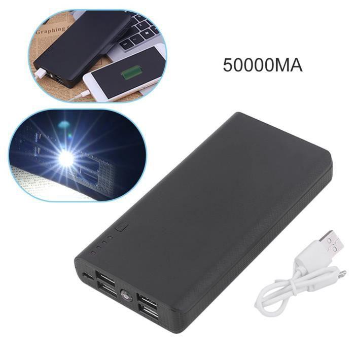 20000mah Power Batterie De Téléphone Externe Bank Led Chargeur dtQrhCs