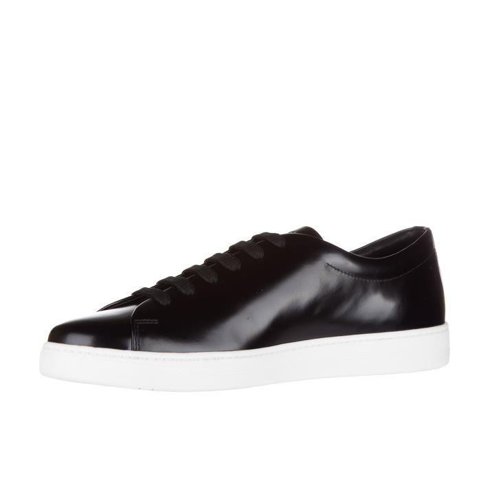 Chaussures baskets sneakers homme en cuir spazzolato rois Prada