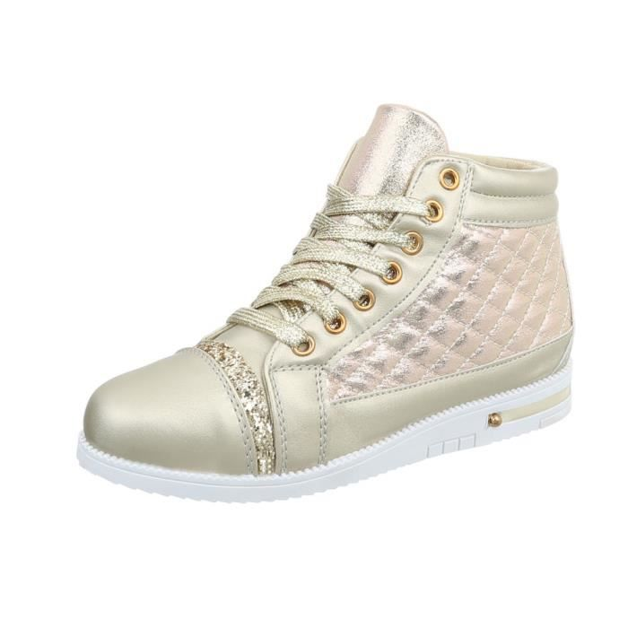 Des Or Bronze Baskets Sneakers Wuaxqg5 Femme Chaussures 36 HSqzHwxrPA