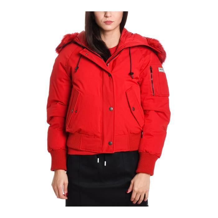 KENZO FEMME F862BL03255121 ROUGE POLYESTER DOUDOUNE Rouge Rouge ... f82f985e1f3