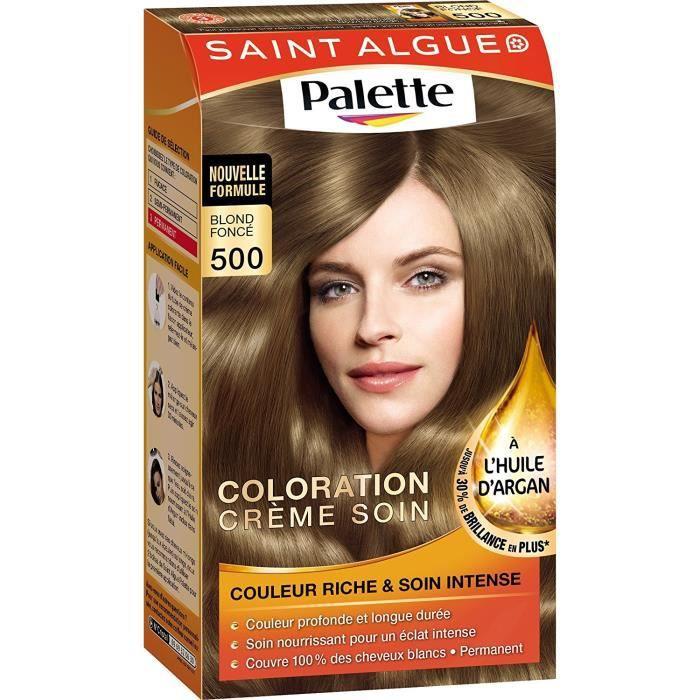Palette Coloration Permanente Blond Foncé 500 Achat Vente