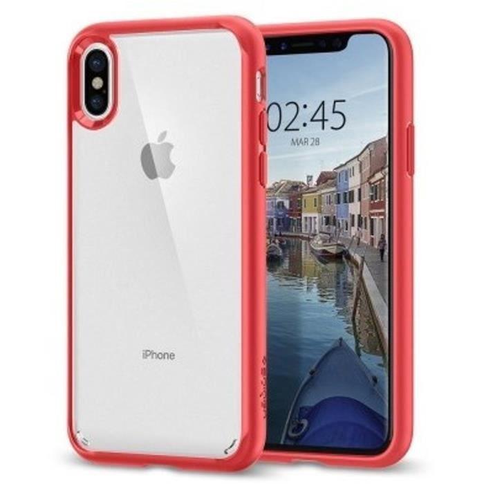 coque spigen iphone x rouge