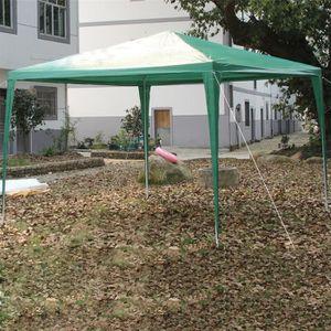 Tonnelle de jardin verte achat vente pas cher - Tonnelle de jardin vert pomme ...