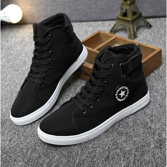 Homme Mode Chaussure Shoes Montantes Basket Skate Chaussures w7xqtRf6E