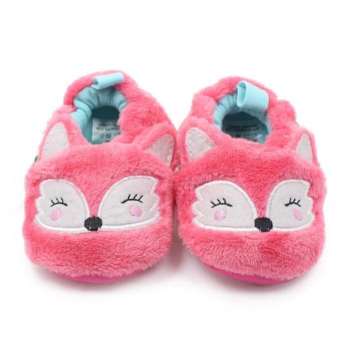 Noël Elk Baby Soft Sole Bottes de neige Berceau doux Bottes tout-petitsNoël HA7643 K4BxO