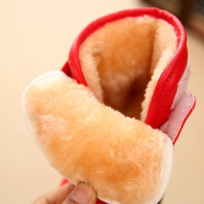 Garçons épaisses bottes filles Garçons et de coton et chaud bottes 1awdqC