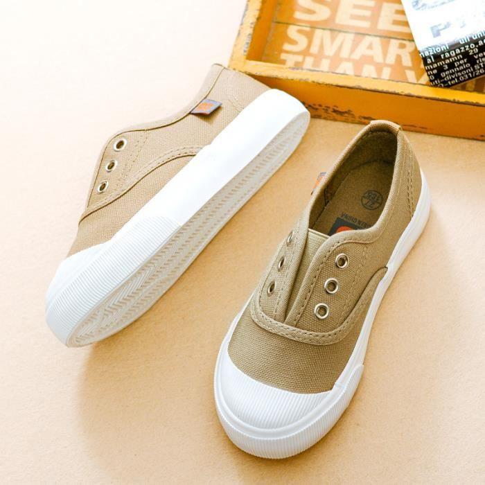 Chaussures pour enfants chaussures décontractées chaussures en toile 0086aol