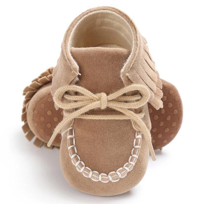 BOTTE Bébé nouveau-né gland semelle souple chaussures garçons filles anti-dérapant bambin prébalker@BrownHM