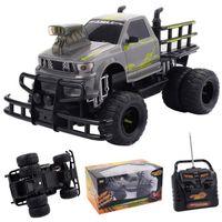 VOITURE ENFANT 1:10 Camion monstre électrique 4 Channel RC téléco