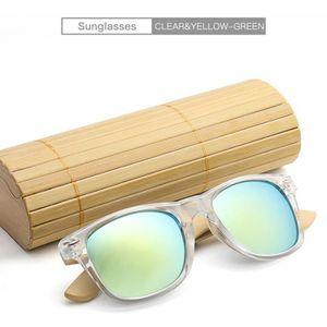 7b3f5281899ba LUNETTES DE SOLEIL New Bamboo Lunettes de soleil en bois bois des fem