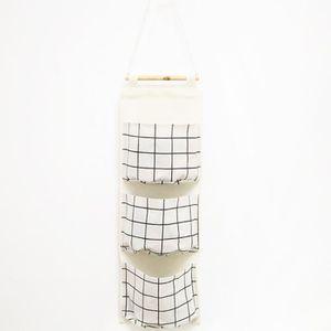 BOITE DE RANGEMENT Montage mural 3 Sacs Sac de rangement pour la cuis
