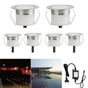 LAMPE DE JARDIN  FVTLED Spots LED Encastrable Extérieur 0.6W DC12V
