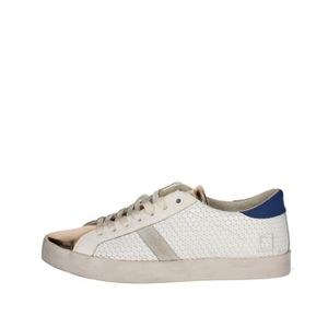 D.a.t.e. Sneakers Homme Blanc, 40