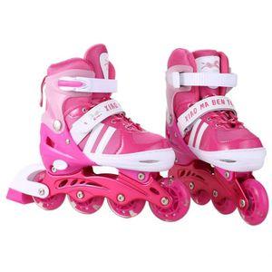 PATIN - QUAD Patin à roulettes enfants réglable unisexe pu roue