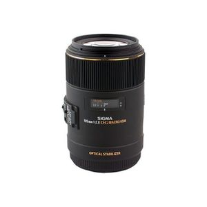 OBJECTIF Sigma 105mm f2.8 EX DG Canon Objectif
