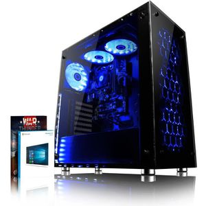 UNITÉ CENTRALE  VIBOX Nebula GS610-5 PC Gamer Ordinateur avec War