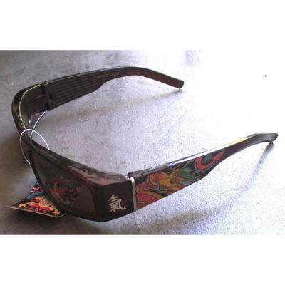 super mignon profiter du meilleur prix design distinctif lunette de soleil mixte tattoo dragon chinois biker punk
