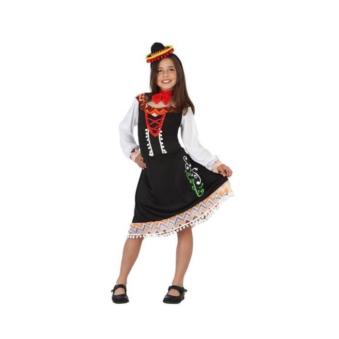 ATOSA Deguisement De Mariachi Fille - Panoplie Enfant