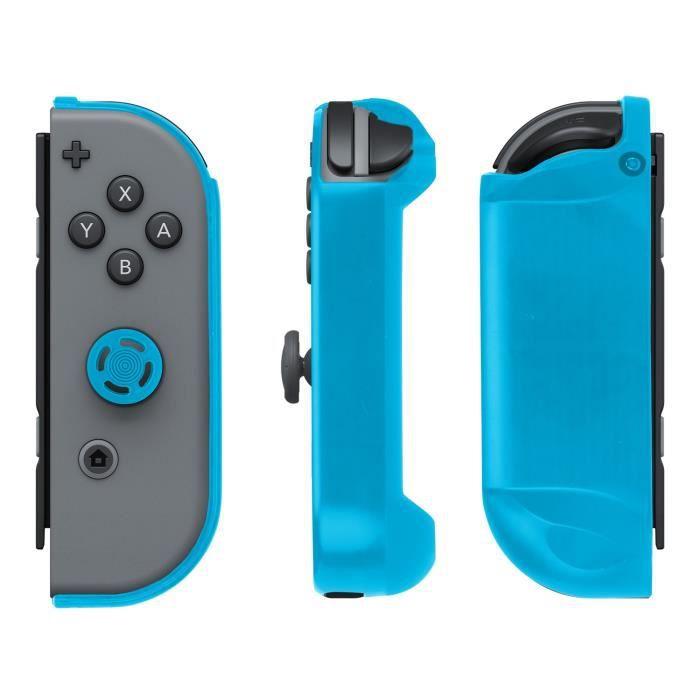Kit de protection joy cons bleu pour switch