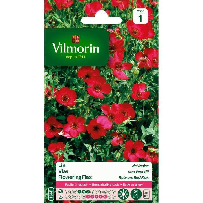 VILMORIN Lin de Venise rouge
