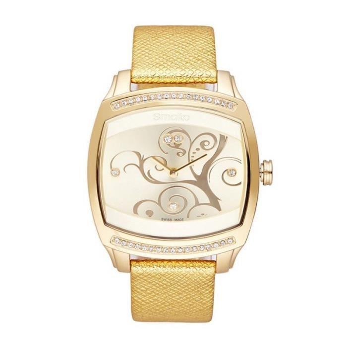a67ba901ce Montre Smalto Femme GR-7 - SM612C8BC6 Doré - Achat / Vente montre ...