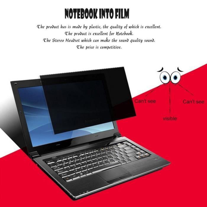 Professionnel 17 pouces Filtre de confidentialité Anti Peeping Écrans Film  de protection Anti Rayonnement Pour ordinateur portable 99bf167b19b4