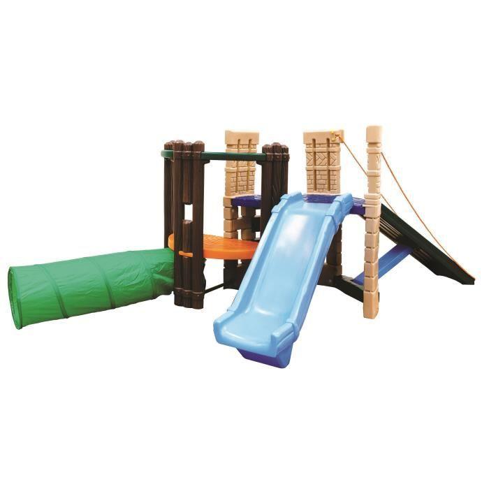 little tikes aire de jeux avec toboggan et tunnel achat. Black Bedroom Furniture Sets. Home Design Ideas