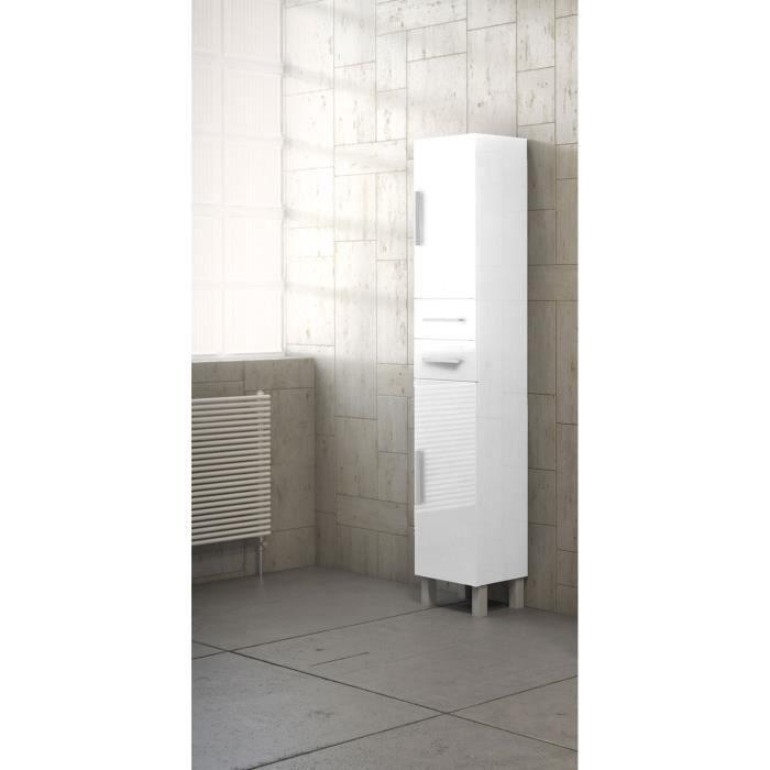 colonne de rangement blanche achat vente colonne de. Black Bedroom Furniture Sets. Home Design Ideas