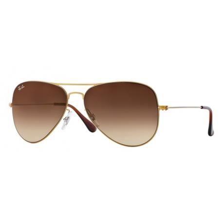 Achetez Lunettes de soleil Ray-Ban Homme AVIATOR FLAT METAL RB3513 149 13  Marron eb4d99ef8a