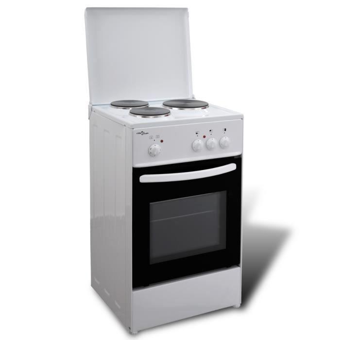 Cuisiniere Electrique Plaques Achat Vente Cuisiniere - Cuisiniere electrique 3 feux pour idees de deco de cuisine
