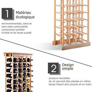 rangement bouteille de vin achat vente rangement bouteille de vin pas cher cdiscount. Black Bedroom Furniture Sets. Home Design Ideas