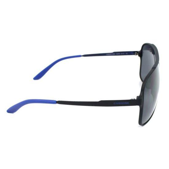 6387c1c091536 Lunettes de soleil Carrera Carrera-122-S -GUY-IR - Achat   Vente lunettes  de soleil Homme Adulte Noir - Cdiscount