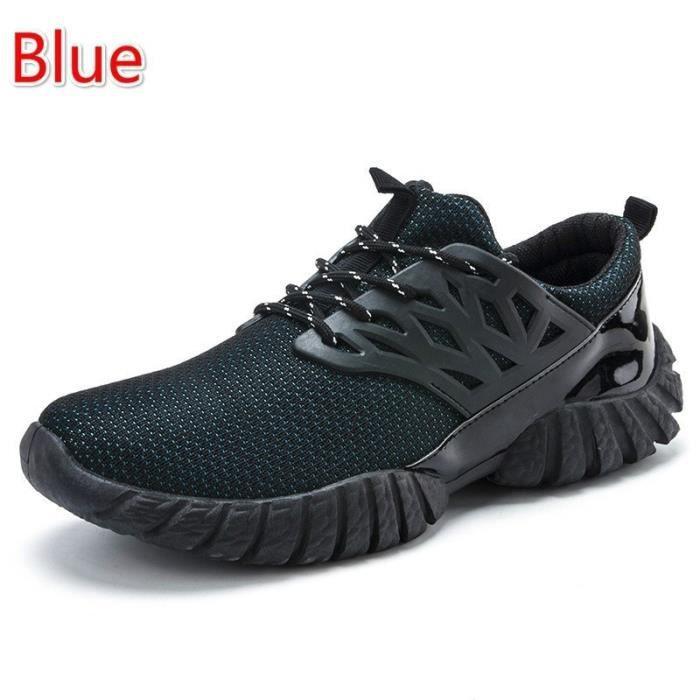 Basket Noir 10.5 Les nouveaux Respirant Casual Outdoor (Noir Bleu Jaune Rouge Vert)