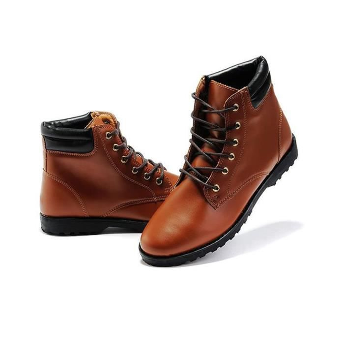 Made in Jinjiang - Bottines pour homme Ref. 44661 - Marron
