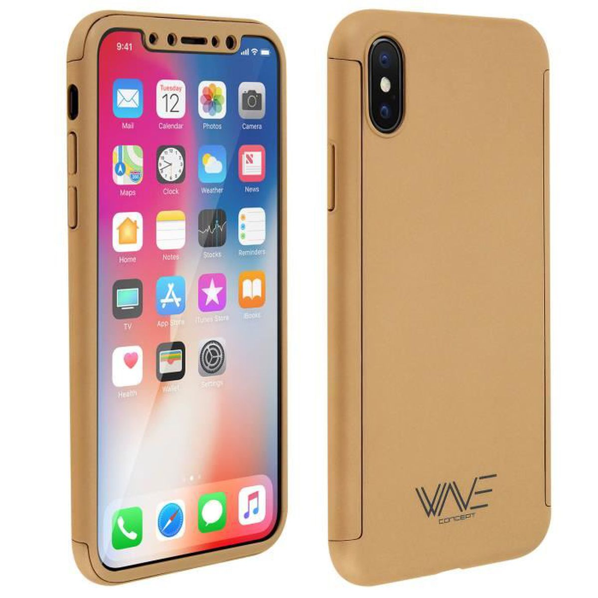coque iphone x avant arriere
