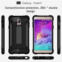COQUE - BUMPER Samsung Galaxy Note 4 Coque Armure Haute Résistanc