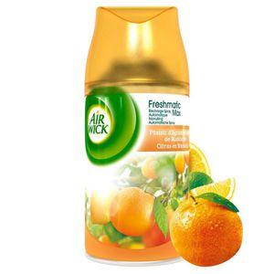 DÉSODORISANT INTÉRIEUR AIR WICK Recharge spray Freshmatic Plaisir d'agrum