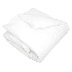HOUSSE DE COUETTE SEULE Housse de Couette Coton Percale 140x200 Blanc 65925713521c