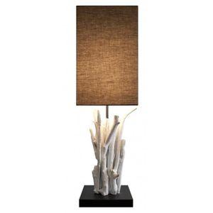 lampe bois flotte achat vente lampe bois flotte pas cher soldes d s le 10 janvier cdiscount. Black Bedroom Furniture Sets. Home Design Ideas