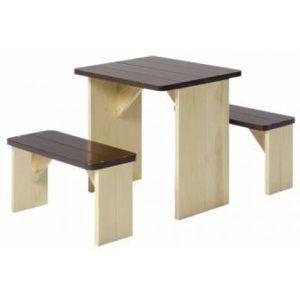 TABLE DE CAMPING Table et banc pique-nique enfant en bois ZidZed